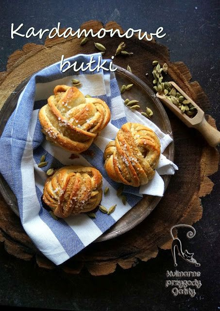 Kulinarne przygody Gatity: Szwedzkie bułeczki kardamonowe (kardemummabullar)