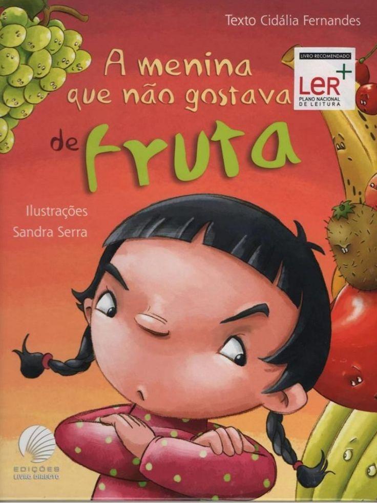 Title Slide of A menina que não gostava de fruta