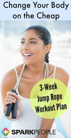 You may think of jumping rope as child's play. But it may be one of the best forms of cardio there is, boasting major benefits in a short amount of time. via @SparkPeople