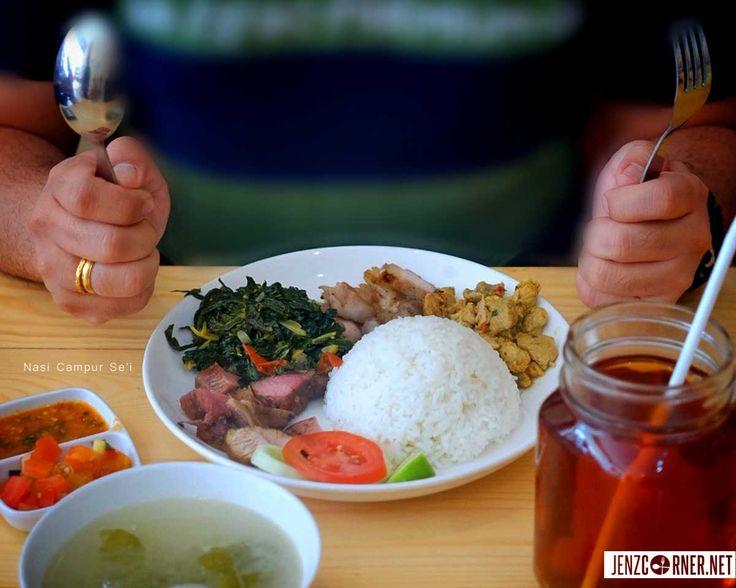 Nasi Campur Se'i khas NTT - Warung Ce!