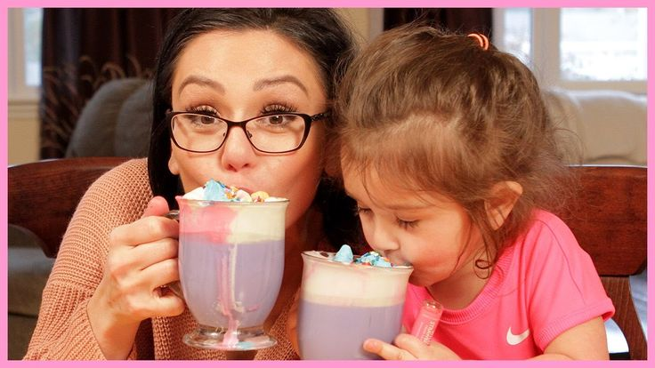 JWOWW Makes Unicorn Hot Cocoa with Meilani! -- I SHOULD MAKE THIS WITH RILEY & IRELAND :) :)