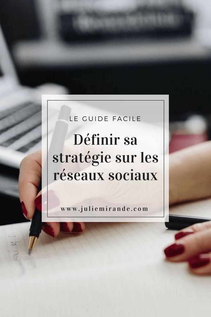 Définir sa stratégie sur les réseaux sociaux : le guide facile #socialmedia #réseauxsociaux #médiassociaux #strategiesocialmedia