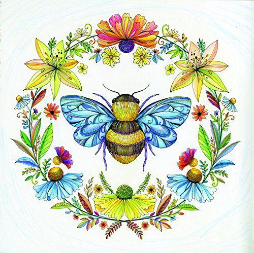 Joyous Blooms To Color Davlin Publishing