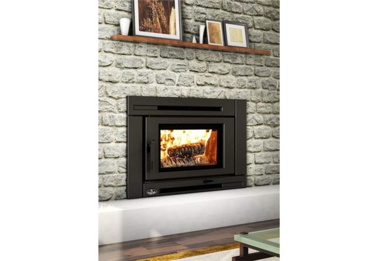 Osburn OB02021 High Efficiency EPA Certified Matrix Wood Insert The Matrix Wood Insert not only offers efficient heating for your living space, it also provides a cozy ambiance along with a contemporary modern focal point for your living room. This model OB02021 features a metallic black exterior, a firebox lined with