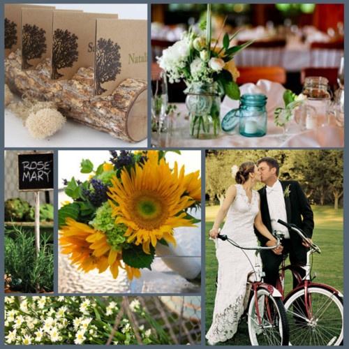 Eco Wedding; Green brides got it going on
