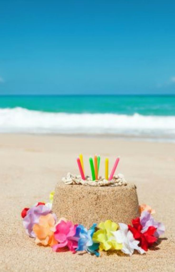 42 Best Beach Birthday Wishes Images On Pinterest Birthday Wishes