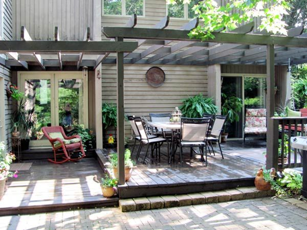 Outside Of House Deck Design on front porch house, laundry house, basement house, plumbing house, dining room house, bedroom house,