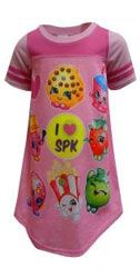 Girl's Shopkins pajamas