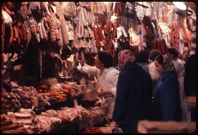 charcuterie. Paris 1962