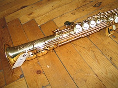 Sx1534 Yamaha 'YSS 875' Soprano Saxophone - Well-made and free blowing £1800.00