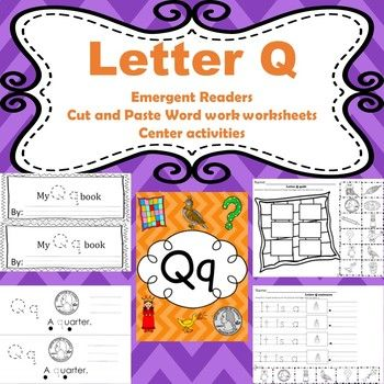 The 25 best letters with q ideas on pinterest q learning trace letter q activities emergent readers word work worksheets centers fandeluxe Choice Image