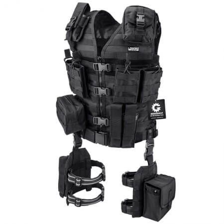 Loaded Gear VX-100 Tactical Vest and Leg Platforms - Tactical Vests - Loaded Gear