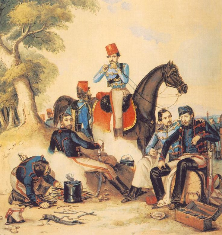 Honvédtisztek tábortűznél.jpg (795×842)
