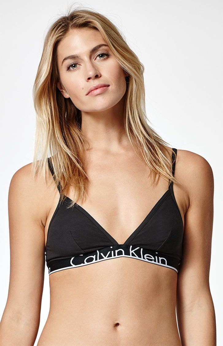 0dbe70f5ce Calvin Klein ID Large Waistband Triangle Bralette at PacSun.com ...