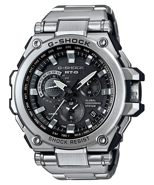 MTG-G1000 New G-Shock MT-G with GPS Hybrid Timekeeping