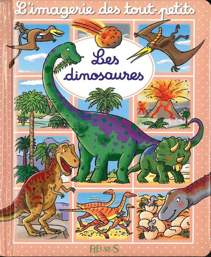 Les dinosaures / conception et texte, Émilie Beaumont ; images, Sylvie Michelet. Éditions Fleurus (L'imagerie des tout-petits) (4)