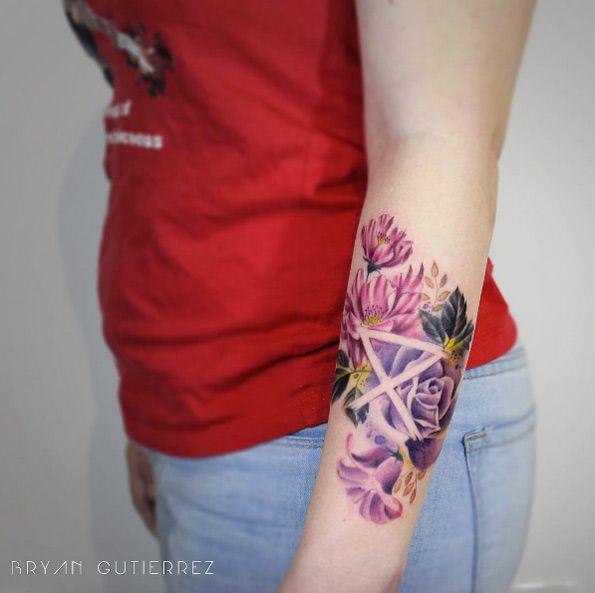Circa Survive logo tattoo by Bryan Gutierrez