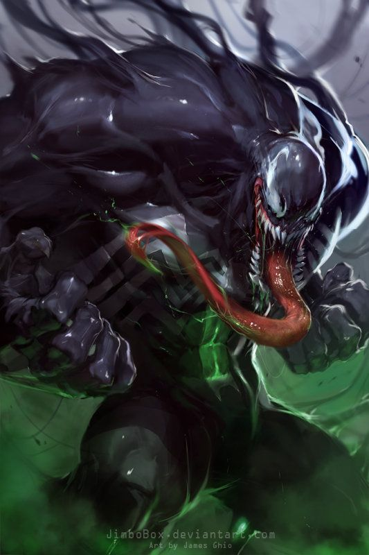 Bring Back Venom!  Art by: jimbobox  Jimbo has a great perspective on venom… I just wish marvel would bring this venom Back!