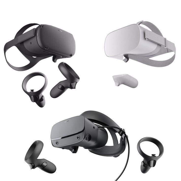 Oculus VR Headset 2019 Collection 3D model oculus go