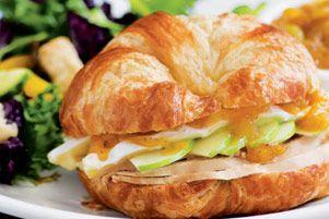 Roasted Turkey & Brie Melt