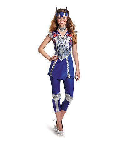 Ha! Optimus Prime Costume for women. :-)  #transformers #morethanmeetstheeye #halloween