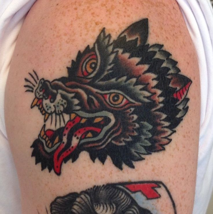 Traditional Wolf: 106 Best Tattoo Images On Pinterest