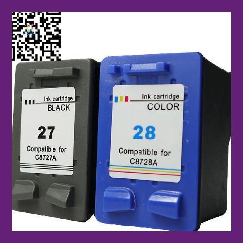 Printer cartridge model for hp27 28 c8727a c8728a kartrid tinta printer cartridge model for hp27 28 c8727a c8728a kartrid tinta kompatibel untuk for deskjet 3420 malvernweather Gallery