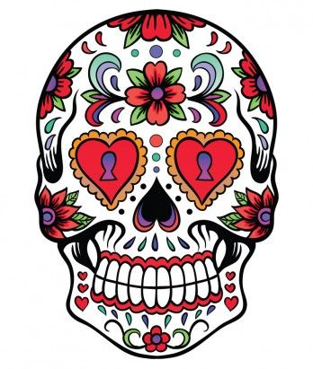 Sugar Skulls - sooo in love with these skulls!