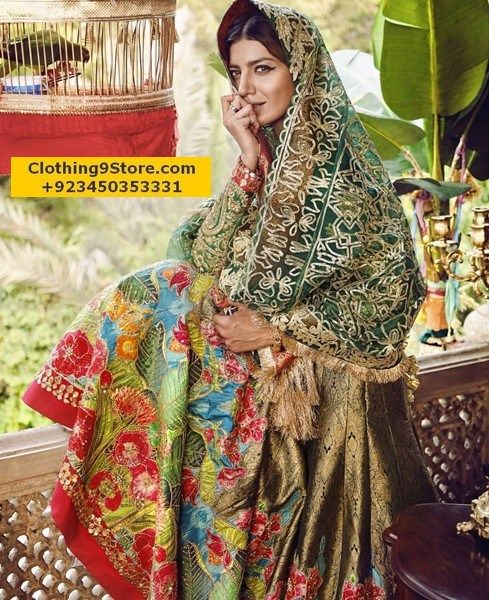 Ali Xeeshan Bridal Collection 2017-2018 | Clothing9 Store