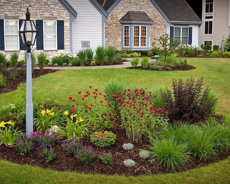 Awesome 55 Green Front Yard Landscaping Ideas https://buildecor.co/01/55-green-front-yard-landscaping-ideas/