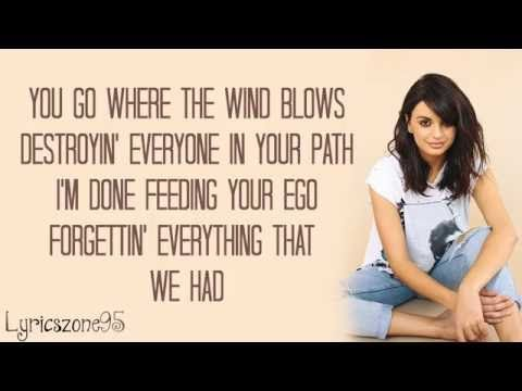 Rebecca Black - THE GREAT DIVIDE Lyrics - YouTube