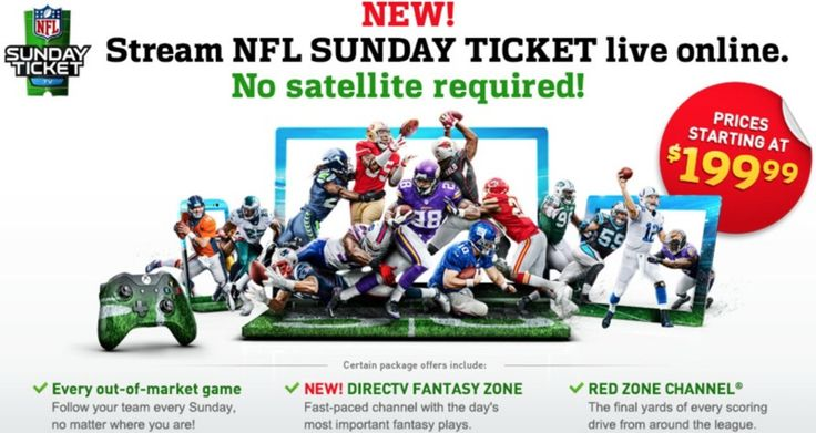 PRAYERS HAVE BEEN ANWSERED!!!!  DirecTV's 'NFL Sunday Ticket' Offered as Standalone Subscription, Available on Macs/iOS Devices [Updated]