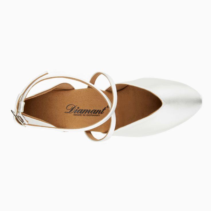 Chaussure de Danse Latine & Salon Diamant Geri 4,2cm Blanc #2.