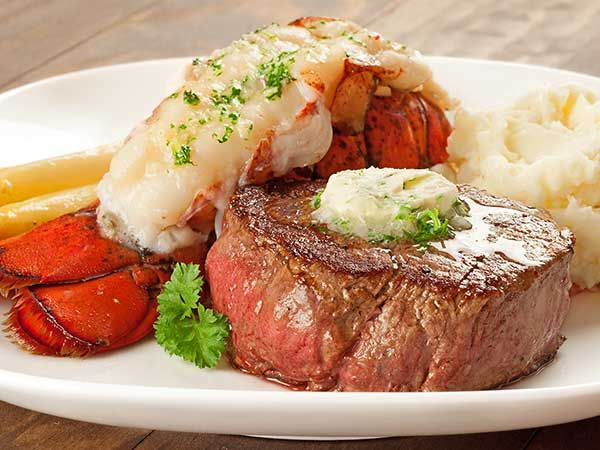 Surf and Turf Dinner for Two: Surf and turf is a classic special occasion dinner and easy to make at home. Our easy-to-follow recipe instructions ensure a perfectly cooked filet and a lobster tail that's moist and tender.
