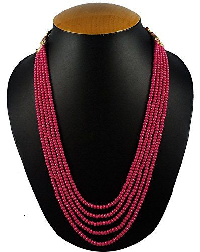 Bollywood Designer Five Layer Pink Color Crystal Beads Ne... https://www.amazon.com/dp/B06XW5JQGJ/ref=cm_sw_r_pi_dp_x_Gh52yb07BVQWE