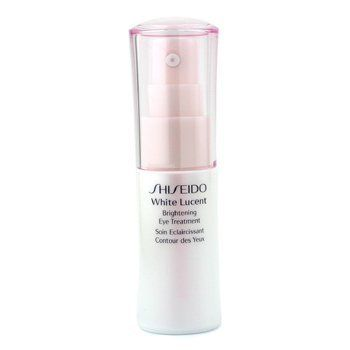 Shiseido White Lucent Brightening Eye Treatment by Shiseido. Save 36 Off!. $34.90. Shiseido White Lucent Brightening Eye Treatment. New in Box. Eye Creams & Gels. **No U.S. Sale Tax** 15ml / 0.54oz. Formulated with an exclusive Spot Deacti Complex Contains Dark Circle Targeting Complex to suppress the appearance of melanin pigments Contains Multi-Luminizing Powder with light diffusing properties to instantly brighten eye contour With a unique blend of Asian plant extracts to resume mo...