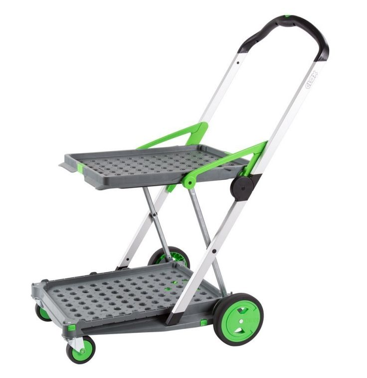 Clax Mobile Folding Cart For Easier And More Convenient Transportation Handling Of Goods Use In Business Office Or Personal Errands