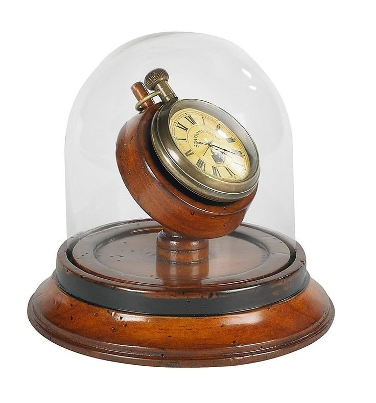 Amazon.com - Authentic Models Victorian Dome Watch - Pocket Watch Display Case