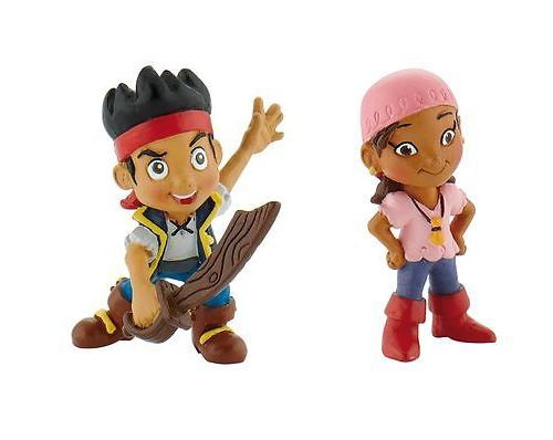 Idee per torte a tema? decora con le statuine di jake e i Pirati.  #jakeeipirati