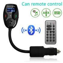 Liang's Best Bluetooth Handsfree Car Kit FM Transmitter/Modulator,Mp3 Player with Music Control,iOS & Android,iPhone 6/6 Plus/5S/5/5C/4S/4,Ipod,Samsung Galaxy Smartphones/Cellphones