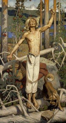 Aksel Gallen-Kallela. Kullervo's Curse.