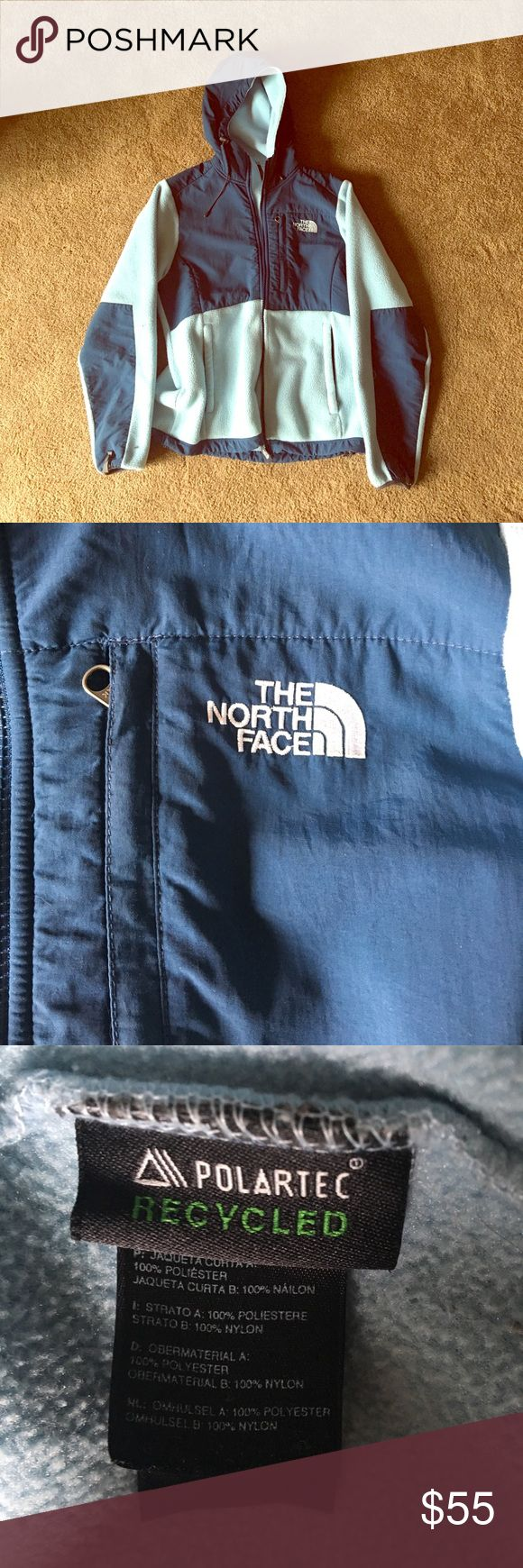 Women's North Face fleece - Blue, Size S Small women's North Face Polartec fleece. Blue North Face Jackets & Coats