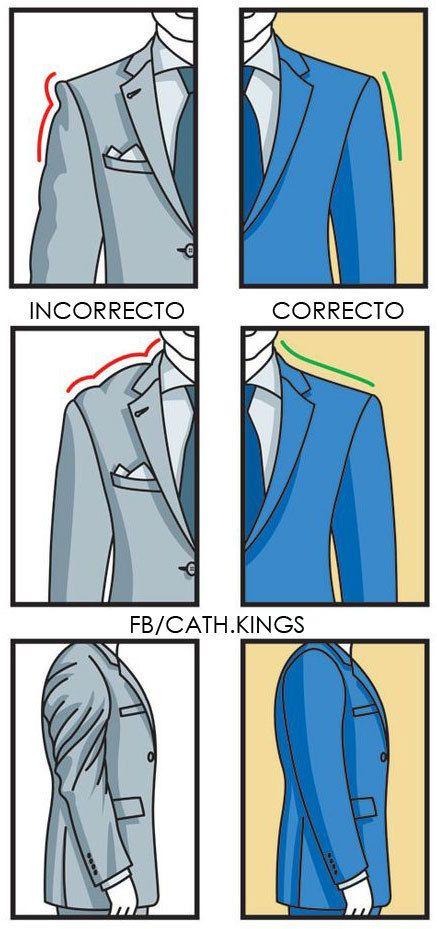 No olvides de inspeccionar como se ven las mangas también. | 17 Guías visuales de estilo que todo hombre necesita en su vida