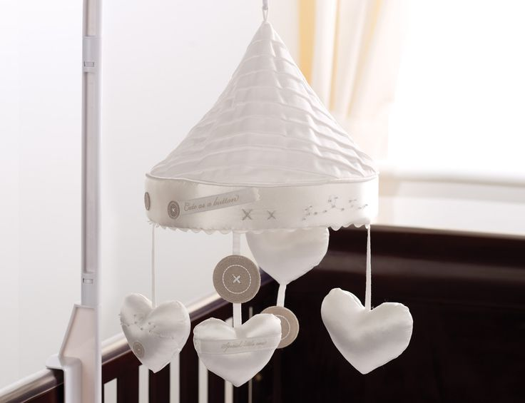 Handmade With Love Musical Cot Mobile from Silver Cross