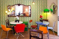 Lolina Vintage Cafe Madrid. So quirky so cute