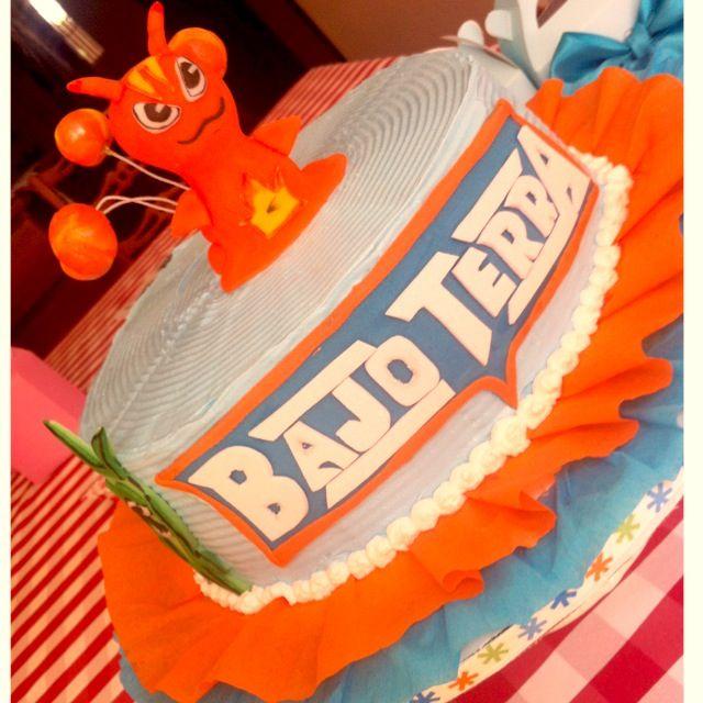 Slugterra cake Bajoterra cake