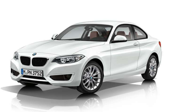 2017 Bmw 2 Series White Luxury Coupe With M Performance Parts Pictures