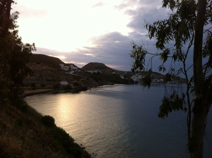 Anticipating the sunset is totally worth it. It's always a mystery and a magical scenery kept in your mind after leaving the island of Patmos! http://blog.patmosaktis.gr/2013/10/dramatic-sunset-in-patmos.html