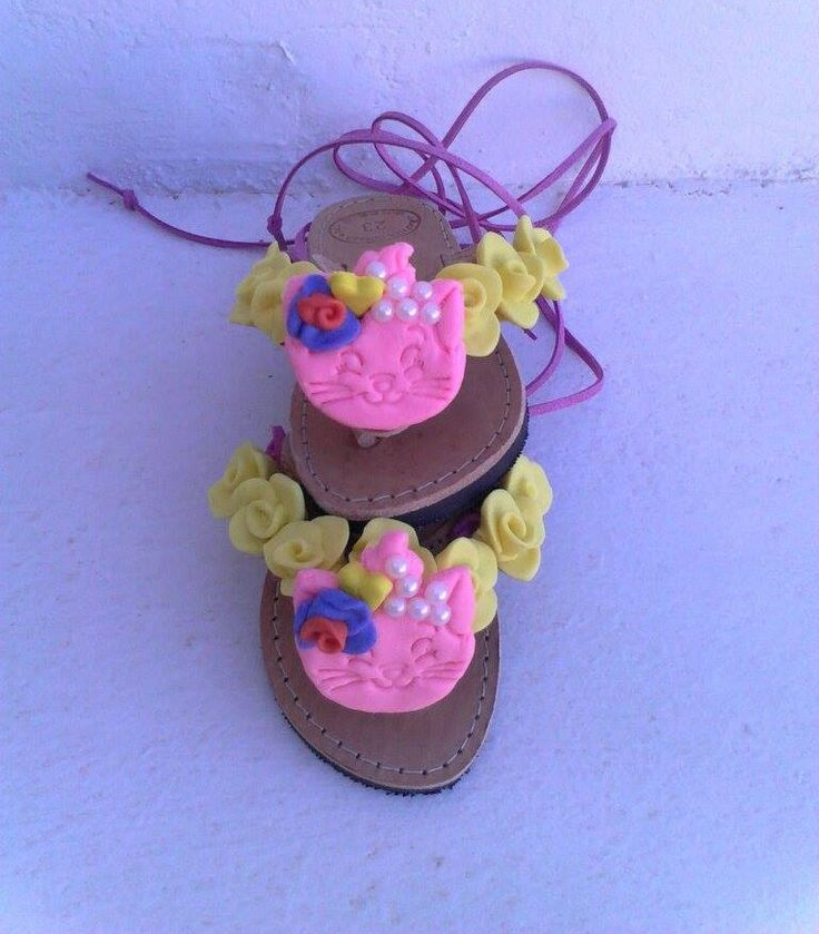 Girls, tie up, Greek handmade porcelain sandals by boutiqueofsandals on Etsy