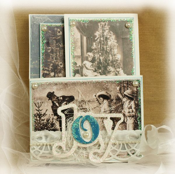 Couture Creations: Joy Tri Fold Card by Sue Smyth